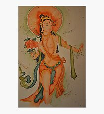 Standing White Tara Photographic Print