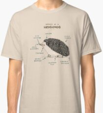 Anatomy of a Hedgehog Classic T-Shirt