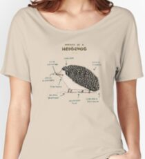 Anatomy of a Hedgehog Women's Relaxed Fit T-Shirt