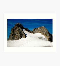 Dachstein Glaciers Art Print