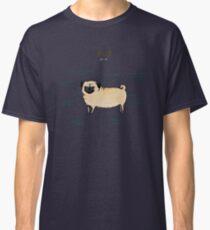 Anatomy of a Pug Classic T-Shirt