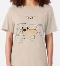 Anatomy of a Pug Slim Fit T-Shirt