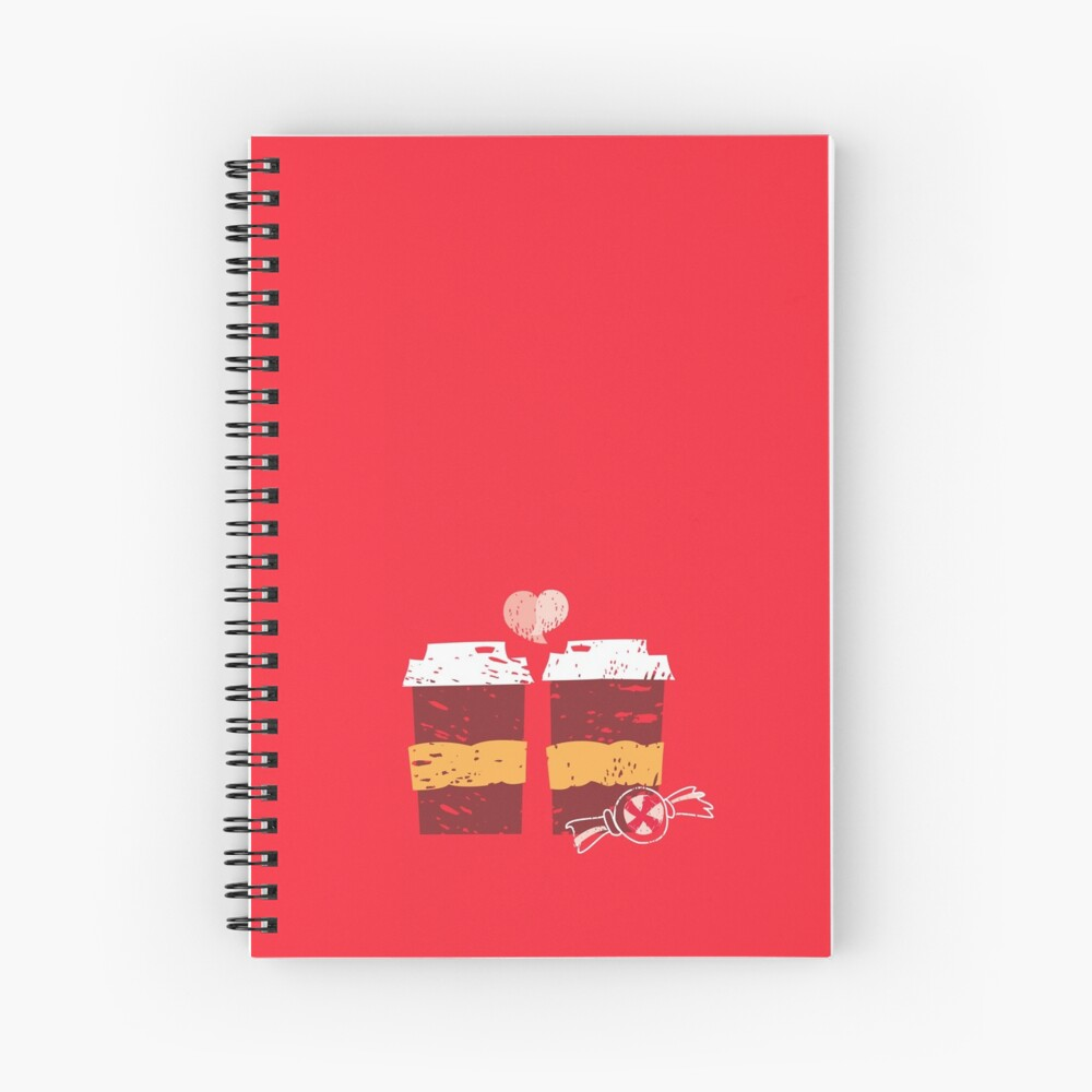 Coffee for Two Spiral Notebook