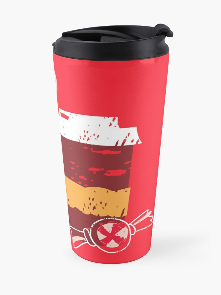 Alternate view of Coffee for Two Travel Mug