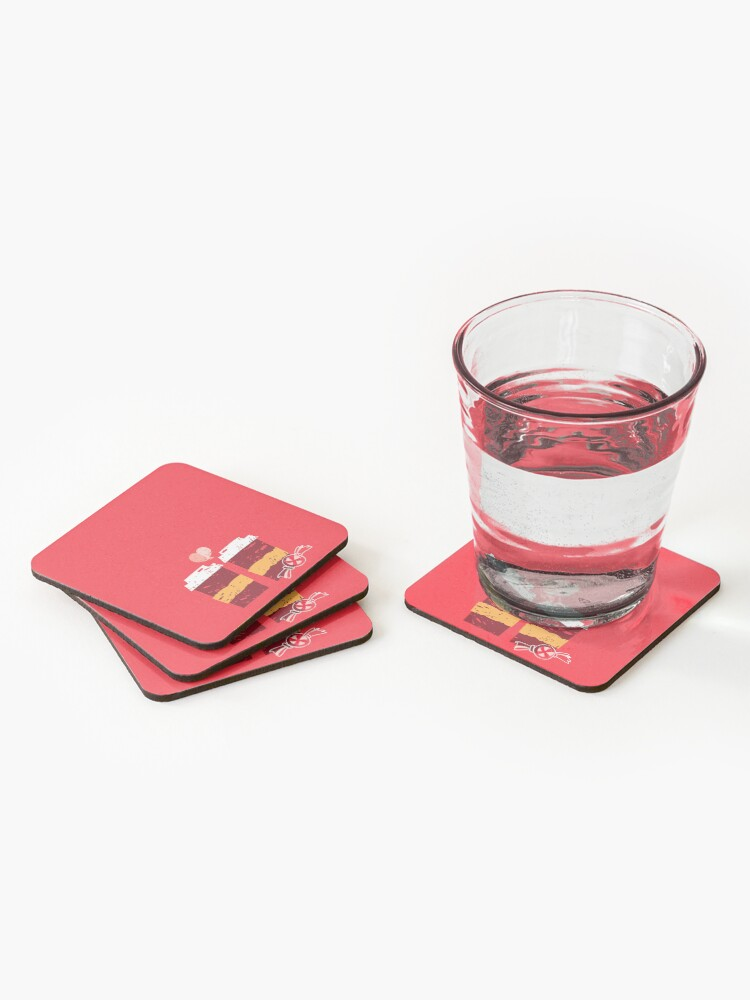 Alternate view of Coffee for Two Coasters (Set of 4)