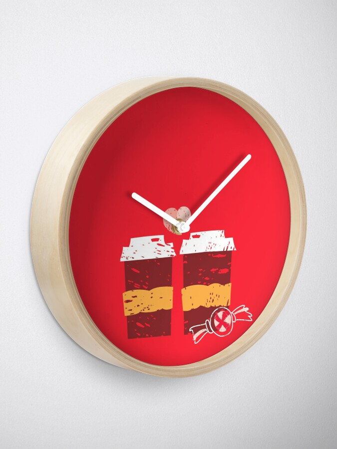 Alternate view of Coffee for Two Clock