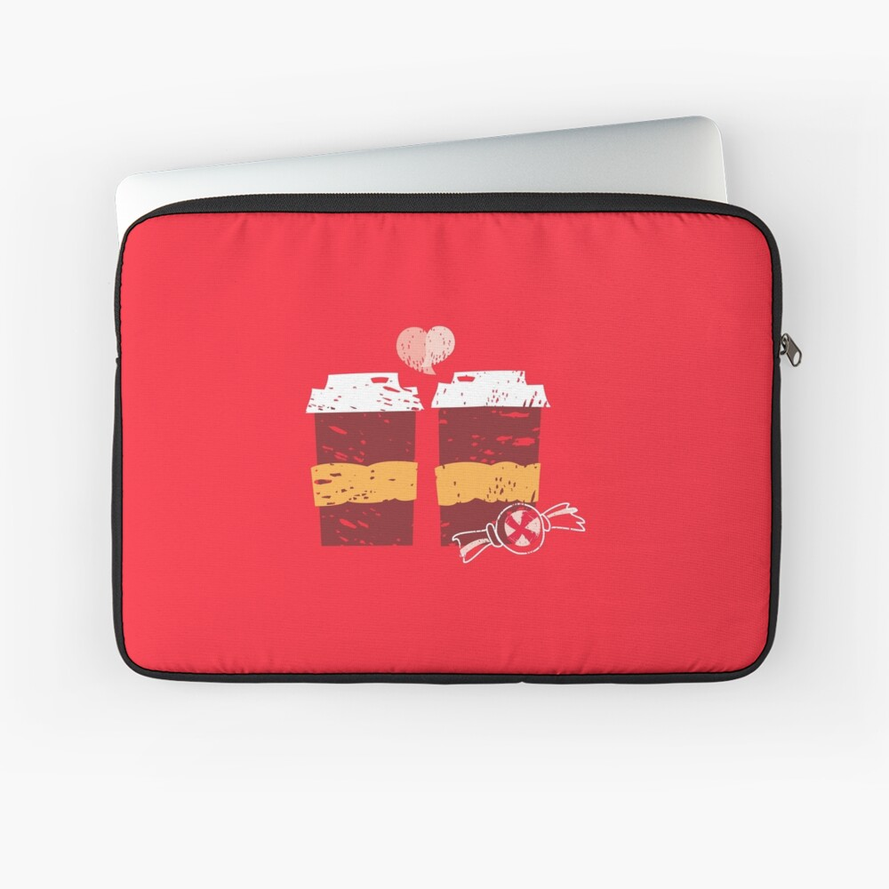 Coffee for Two Laptop Sleeve