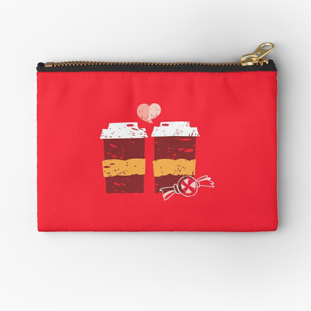 Coffee for Two Zipper Pouch