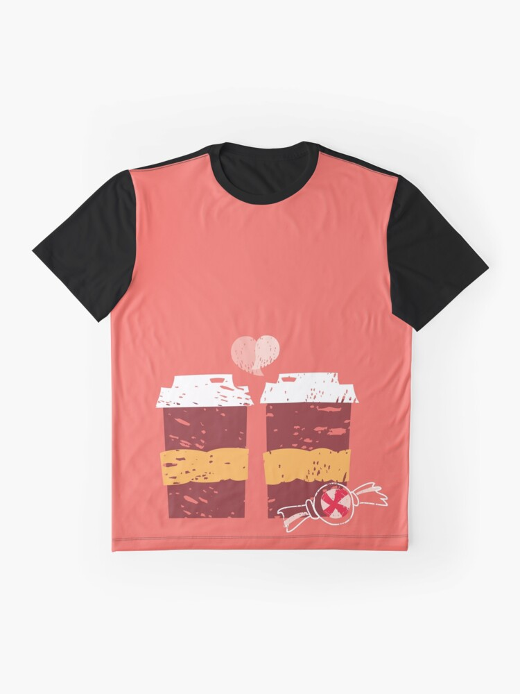 Alternate view of Coffee for Two Graphic T-Shirt