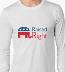 Republikaner - rechts erhoben Langarmshirt