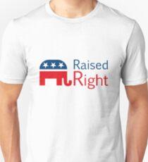 Republican - Raised Right T-Shirt
