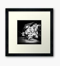 Vietnam - Lanterns in Hoi-Ann Framed Print