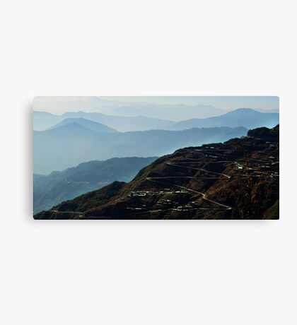 Forever Road Canvas Print