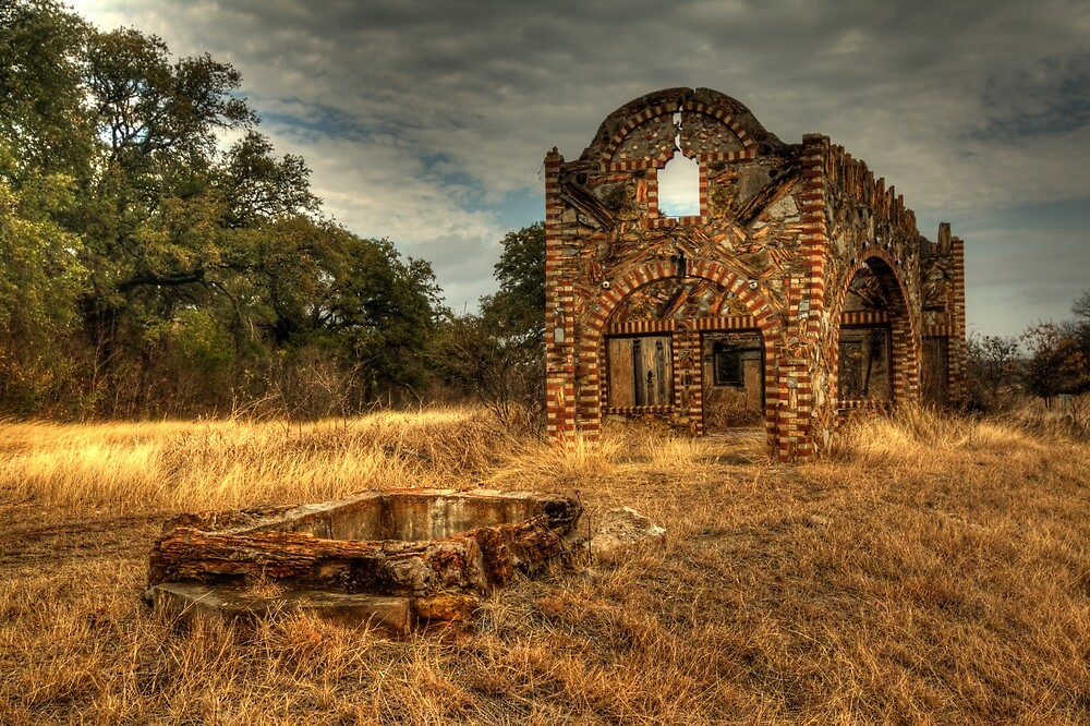 Petrified Wood Ghost Station by Terence Russell