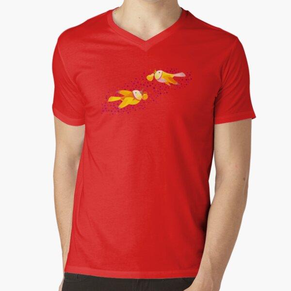 Autumn Love V-Neck T-Shirt