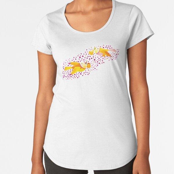 Autumn Love Premium Scoop T-Shirt
