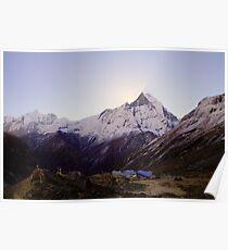 Annapurna Base Camp, Nepal. Poster