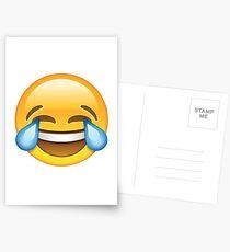 Laughing Emoji Postcards
