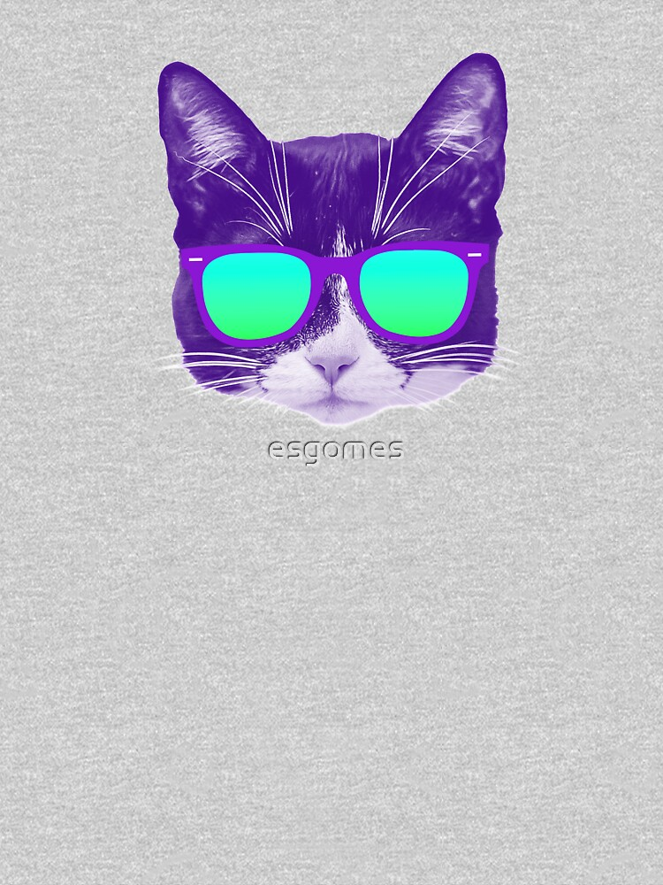 Cool Cat with Sunglasses by esgomes