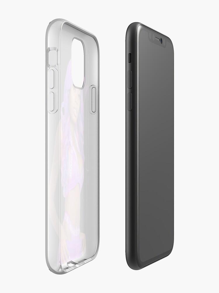 Coque iPhone «Poupée asiatique», par Jaqiana