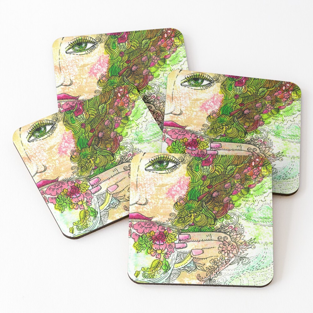 Morning Coffee Coasters (Set of 4)