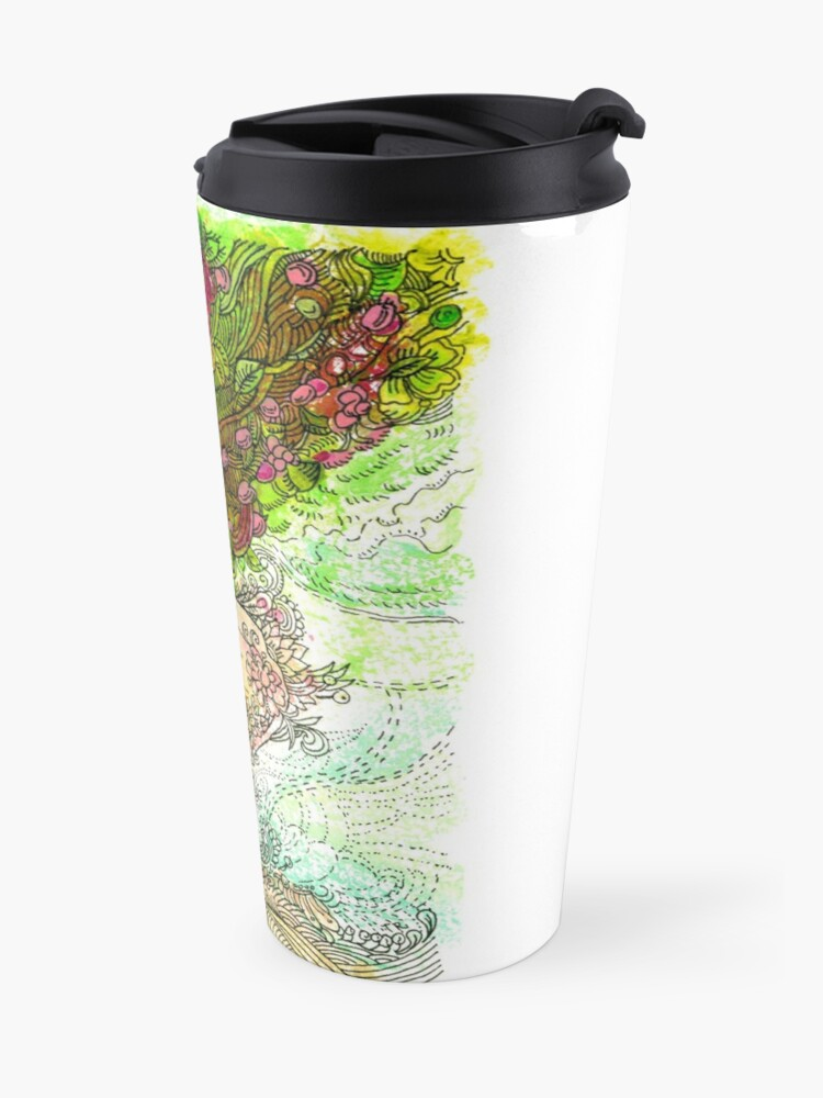 Alternate view of Morning Coffee Travel Mug
