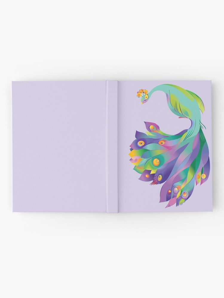Alternate view of Peacock  Hardcover Journal