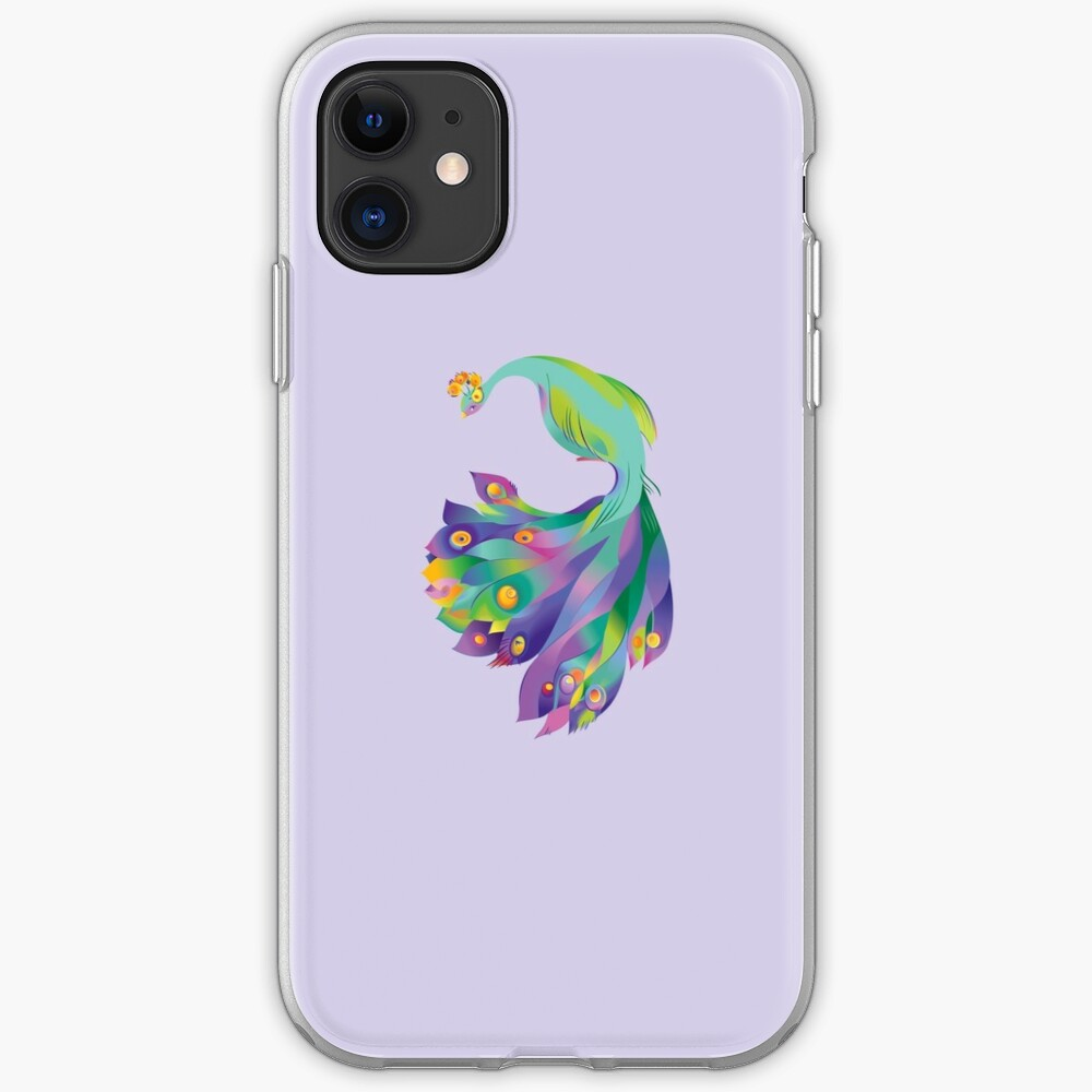 Peacock  iPhone Soft Case