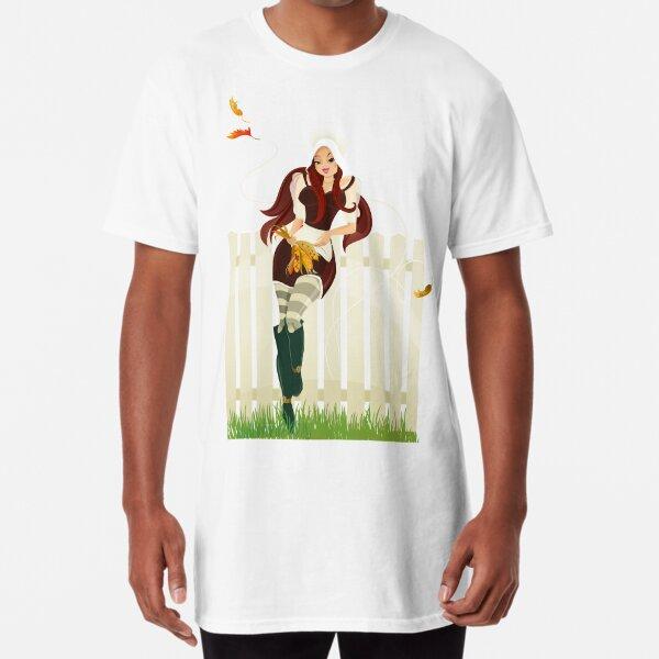 Happy Thanksgiving Day! Long T-Shirt