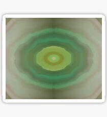 Dark Olive Green Tunnel Sticker