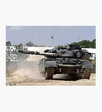 Chieftain Tank  Photographic Print