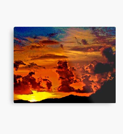 Sunset someday...Got Featured Work Metal Print