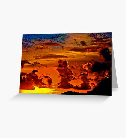 Sunset someday...Got Featured Work Greeting Card