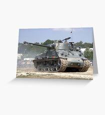 WW2 Sherman Tank Greeting Card