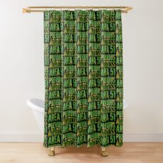 Previous Address Area 51 - Alien Gift Shower Curtain