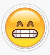 Frustrated Emoji Sticker