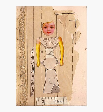 Anatomy of a doll 3 Photographic Print