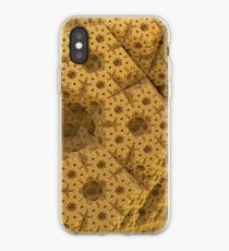 Sandy dodecahedral gasket iPhone Case