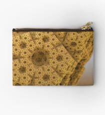 Sandy dodecahedral gasket Studio Pouch