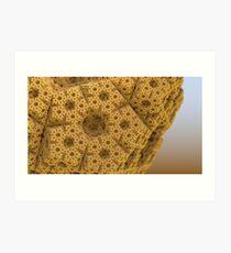 Sandy dodecahedral gasket Art Print