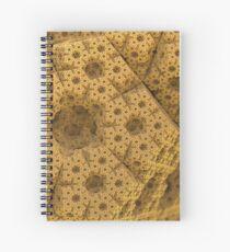 Sandy dodecahedral gasket Spiral Notebook