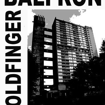 Balfron Tower, Erno Goldfinger by vastasquoheem