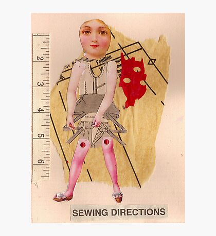 Anatomy of a doll 10 Photographic Print