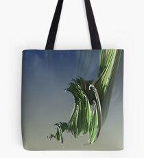 Grassy spiral Tote Bag