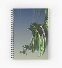 Grassy spiral Spiral Notebook