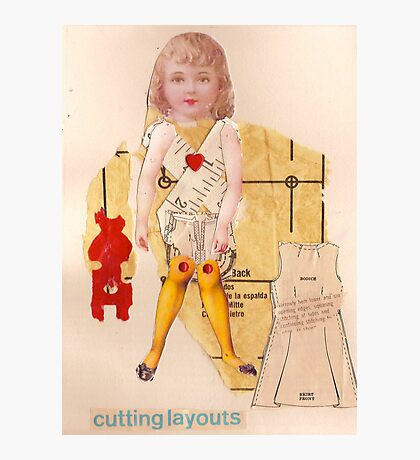 Anatomy of a doll 15 Photographic Print