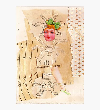 Anatomy of a doll 1 Photographic Print