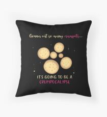 Crumpets everywhere Floor Pillow