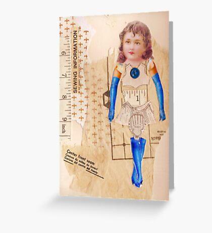 anatomy of a doll 8 Greeting Card
