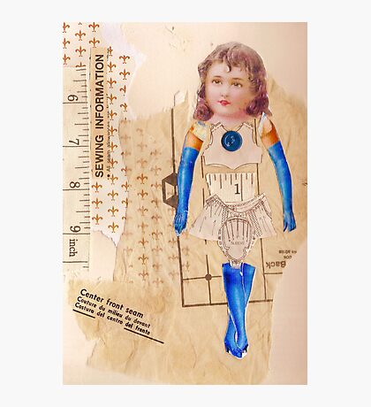 anatomy of a doll 8 Photographic Print